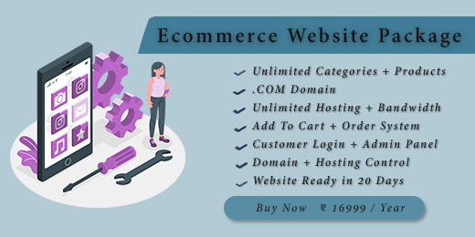 Ecommerce Website Package